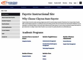 fayette.clayton.edu