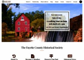 fayettehistoricalsociety.com