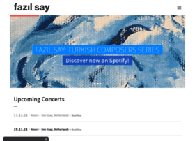 fazilsay.com.tr