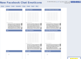 facebook chat emoticon 2012 at Thedomainfo
