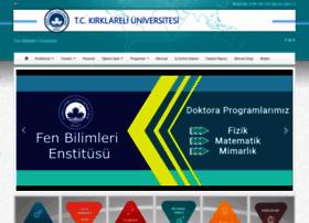 fbe.kirklareli.edu.tr