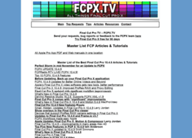 fcpx.tv