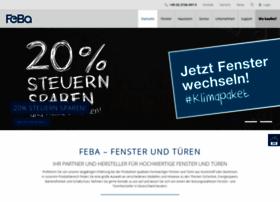 feba fensterbau websites and posts on feba fensterbau. Black Bedroom Furniture Sets. Home Design Ideas
