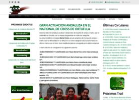 fedatletismoandaluz.net