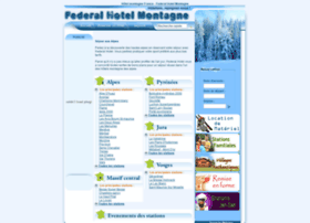 federal-hotel-montagne.fr