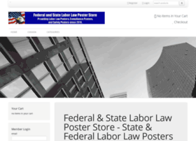 Federalandstatelaborlawposterstore.com