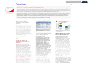 federalbudget.givinglegacy.com