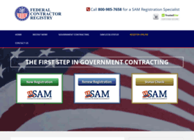 federalcontractorregistry.com