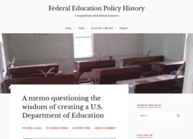 federaleducationpolicy.wordpress.com