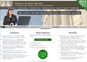 federalevidence.com