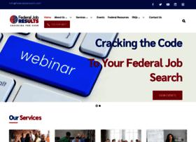 federaljobresults.com