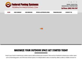 federalpavingsystems.com