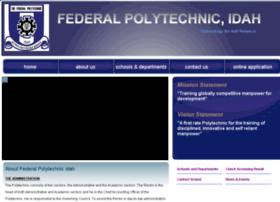 federalpolyidah.edu.ng