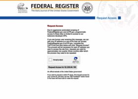 federalregister.gov