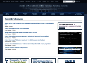 federalreserve.gov