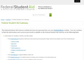 federalstudentaid.ed.gov