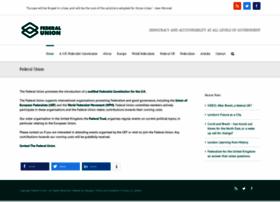 federalunion.org.uk