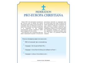 federation-pro-europa-christiana.org