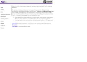 Fedex.zebra.com