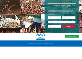 feedback.aamaadmiparty.org