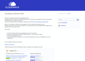 feedback.cloudways.com