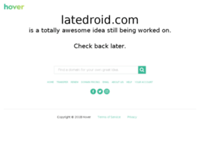 feedback.latedroid.com