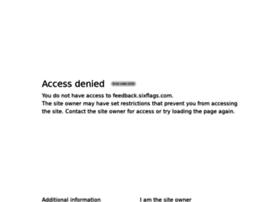 feedback.sixflags.com