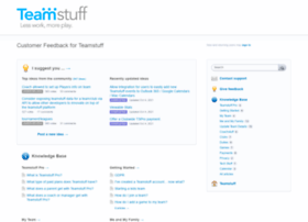 feedback.teamstuff.com