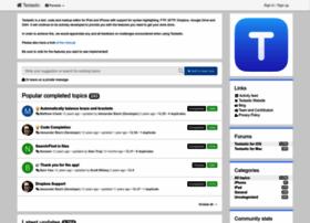 feedback.textasticapp.com