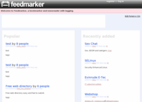 feedmarker.com
