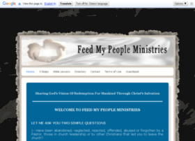 feedmypeopleministries.com