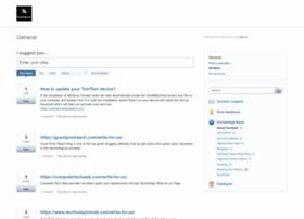 feedspot.uservoice.com
