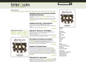 fehlercodes.com