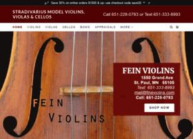 feinviolins.com