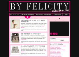 felicityfashion.be