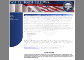 fellows.whitehouse.gov
