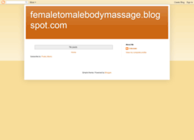 femaletomalebodymassage.blogspot.in