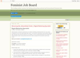 feministjobs.blogspot.co.uk