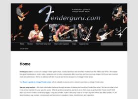 fenderguru.com