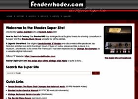 fenderrhodes.com