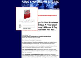 fengshuibusinesscard.com