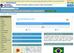 feriadosmunicipais.com.br