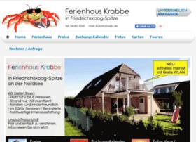 ferienhaus-krabbe-friedrichskoog.de