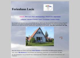 ferienhaus-lucie.de