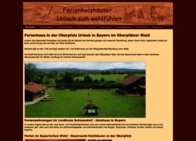ferienholzhaus-bayern.de
