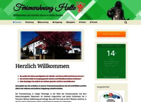 ferienwohnung-halle.com