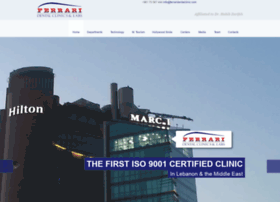 ferraridentalclinic.com