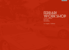 ferrariworkshop.com