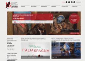 festivaldecineitalianodemadrid.com