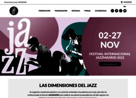 festivaldejazzmadrid.com